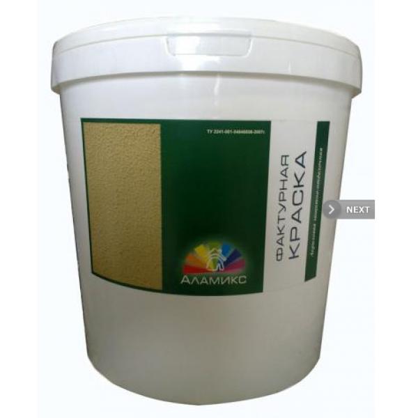 Акриловая фактурная краска для наружных работ, 25 кг