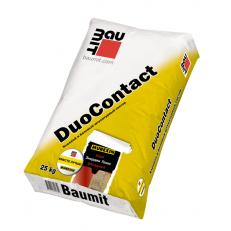 Клеевой и базовый штукатурный слой Baumit DuoContact, 25 кг