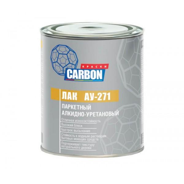 Лак паркетный CARBON АУ-271 алкидно-уретановый матовый