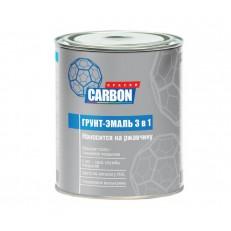 Грунт-эмаль  CARBON по ржавчине 3 в 1, 0,9 кг