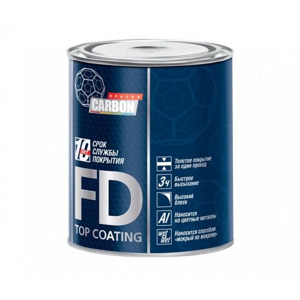 ГРУНТ-ЭМАЛЬ CARBON 3 в 1 FD-TOP COATING, 0,9 кг