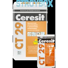Штукатурка и ремонтная шпаклевка для внутренних и наружных работ Ceresit CT 29