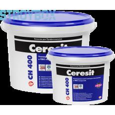 Универсальный клей для ковролинов, ПВХ покрытий и натурального линолеума Ceresit CН 400