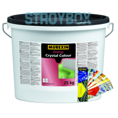 Силикатная фасадная краска Энерджи Кристалл Колор, БАЗА, 25 кг