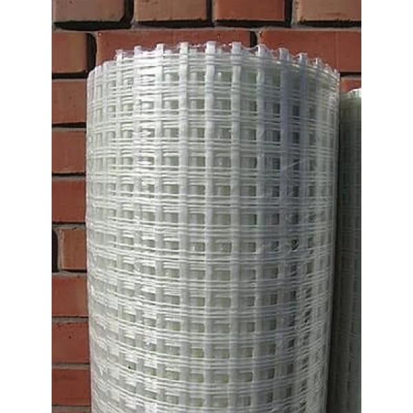 Панцирная антивандальная стеклосетка 320г/м2, 1х25 м.п.