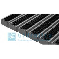 Придверная решётка Gidrolica® Step щётка 390×590, 1 штука