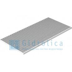 Решётка стальная Gidrolica® Step Pro 490×990 (ячейка), 1 штука