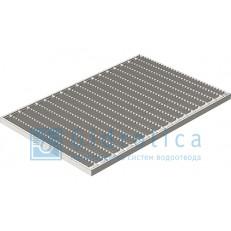 Решётка стальная Gidrolica® Step Pro 390×590, 1 штука