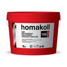 Водно-дисперсионный клей для резиновых и каучуковых напольных покрытий HOMAKOLL 198 PROF