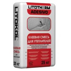 Клеевая смесь для фасадного утеплителя LITOTHERM ADESIVO, 25 кг