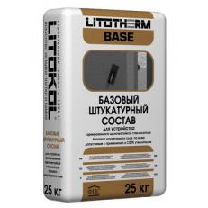 Базовый штукатурный состав LITOTHERM BASE, 25 кг