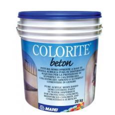 Полупрозрачная краска на основе акриловых смол Colorite Beton, БАЗА, 20 кг