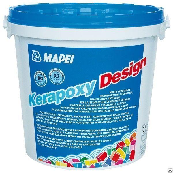 Двухкомпонентный кислотостойкий состав Kerapoxy Design, 3 кг