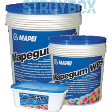 Быстросохнущая эластичная жидкая мембрана Mapegum WPS