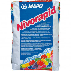 Сверхбыстросхватывающийся тиксотропный цементный состав NIVORAPID, 25 кг