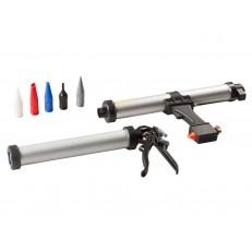 Пистолет для мягких алюминиевых картриджей 600 мл PISTOLA PER SALSICCIOTTI