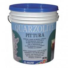 Вододисперсионная акриловая краска с содержанием тонкодисперсного кварца Quarzolite Paint, 20 кг