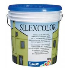 Водоотталкивающая паропроницаемая защитная краска Silexcolor Paint, БАЗА, 20 кг
