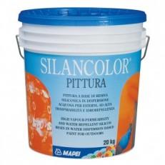Высокоэффективная защитная водостойкая паропроницаемая краска Silancolor Paint, БАЗА, 20 кг