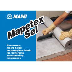 Нетканая полипропиленовая макропористая ткань Mapetex Sel, рулон 25 м2