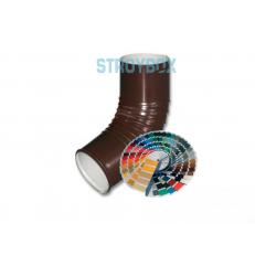 Колено трубы / Колено сливное (отмет) окрашенное по RAL, 1 штука