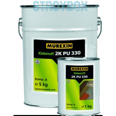 Эластичный двухкомпонентный клей на полиуретановой основе 2K PU 330, Комплект А + В