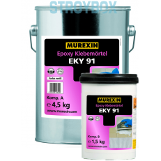 Эпоксидный клей белый EKY 91, 6 кг