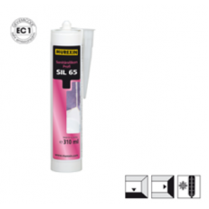 Санитарный силикон Profi SIL 65, картридж 310 мл