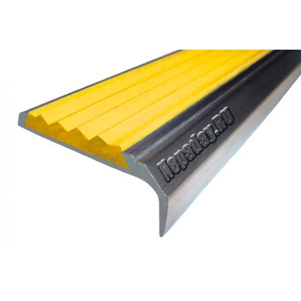 Алюминиевый угол-порог без покрытия (42мм*23мм), 1,33 м