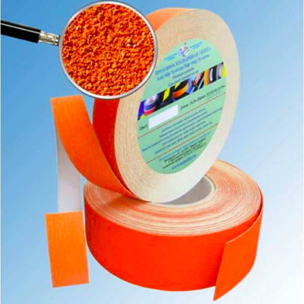 Цветные самоклеющиеся абразивные ленты против скольжения Antislip Systems, рулон 18,3 м.п.