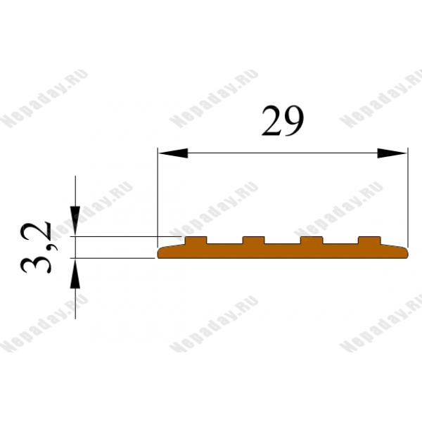 Самоклеющаяса полоса против скольжения Не Падай 29, Бухта 25 м.п.