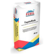 Легкая цементно-известковая штукатурка 0518 TeploRob, 20 кг