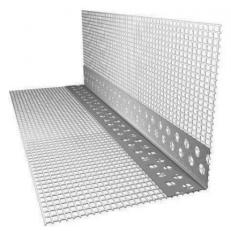 Профиль угловой ПВХ с армирующей сеткой, 2.5 м (FASADPRO)