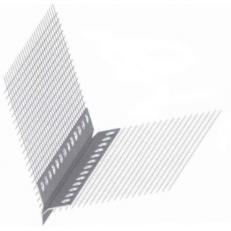 Профиль-капельник ПВХ с армирующей сеткой, 1 штука