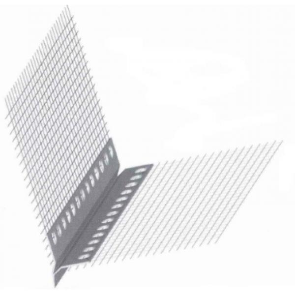 Профиль-капельник ПВХ с армирующей сеткой (BELLAPLAST)