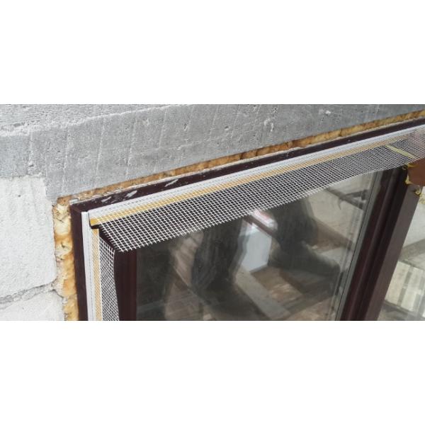 Профиль примыкающий с армирующей сеткой 2,4 м