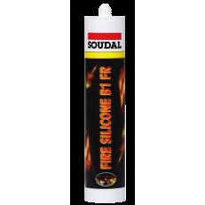 Огнестойкий силиконовый герметик FIRE SILICONE B1 FR, 310 мл
