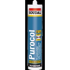 Быстросохнущий и водонепроницаемый полиуретановый клей Purocol, 310 мл