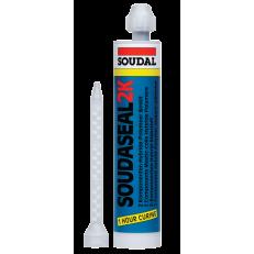 Двухкомпонентный клей-герметик быстрой полимеризации с высокой силой соединения Soudaseal 2K, 250 мл