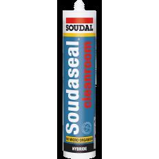 Гибридный клей-герметик высшей степени химической чистоты Soudaseal Cleanroom, 290 мл