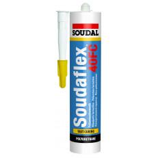Постоянно эластичный однокомпонентный полиуретановый клей-герметик Soudaflex 40 FC, 310 мл