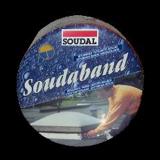 Алюминиевая лента  для крыши Soudaband, ролик 10 м.п.