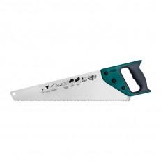 Ножовка по дереву Варяг 85676 3х гранная заточка, средний зуб, 450 мм