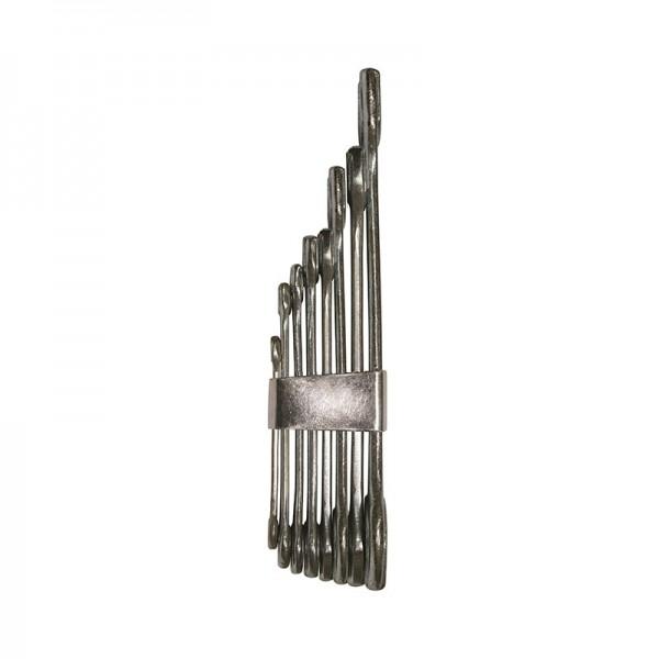Ключи гаечные Biber 90652 комбинированные 8-19 мм 8 шт.