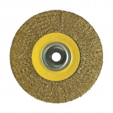 Щетка-крацовка Biber 70979 дисковая 150 мм с переходниками