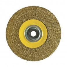 Щетка-крацовка Biber 70980 дисковая 200 мм с переходниками