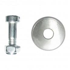 Запасной ролик Biber 55183 для плиткореза Стандарт 15х6х1,5 мм