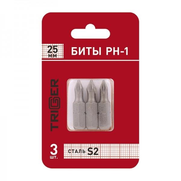 Биты Trigger 84961 Профи PH-1 25 мм (3 шт.)