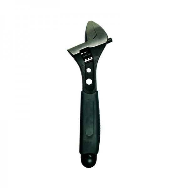 Ключ разводной Biber 90012 Профи 200 мм, CrV сталь, шкала