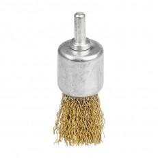 Щетка-крацовка Biber 70991 чаша 17 мм для дрели